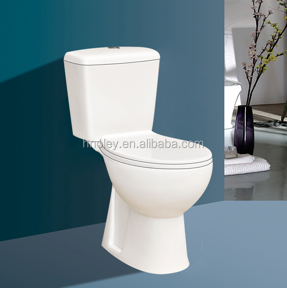 2016 long using life ceramics two piece wall hung toilet