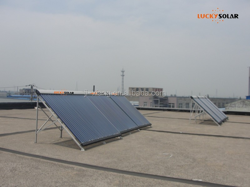 Heat Pipe High Pressure Solar Water Heater Solar Panels Solar Hot water costs