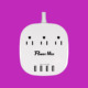 High quality Hot sale 4 outlet usb smart power strip with 4 USB charger 120V AC Power Cord Type 4 Gang UL Power Strip