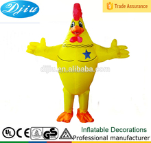 DJ-CQF-061 Big cock parrot birds inflatable costumes for animal party