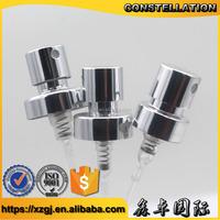 2017 Metal hand pressure pump good quality mist sprayer for perfume bottle used
