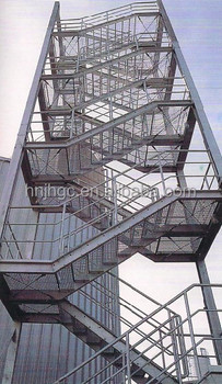 Outdoor School Steel Stairs For Sale Building Steel Stairs