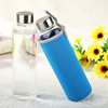 Haonai bulk sale Borosilicate glass sport bottle
