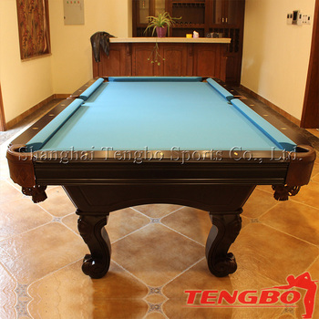 9ft/8ft Low Price 8 Ball Pool Table From Tengbo Sports
