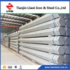 pre galvanized erw ss400 hot dipped galvanized steel pipe