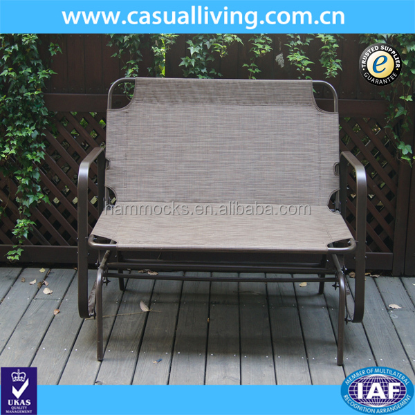Surprising Outdoor Garden Steel Frame Patio Swing Glider Loveseat Bench Rocking Chair Buy Outdoor Garden Bench Metal Garden Bench Glider Rocking Chair Product Andrewgaddart Wooden Chair Designs For Living Room Andrewgaddartcom