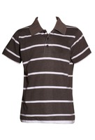 MOQ2000 chilldrens striped polo shirt bulk/childrens polo shirt design with your own logo/children polo shirt with digital print