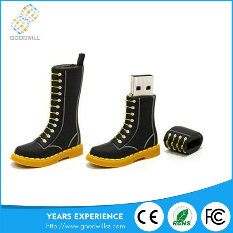 USB dr flash drive shenzhen u disk of Dr Martens shoes shape Custom wholesale retail