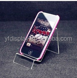 Customized Acrylic Handphone Display Stand With Logo