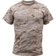 100% cotton military desert camo army digital military camouflage t shirt