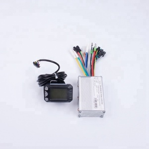 Electric bicycle parts kit mileage meter and motor ebike controller