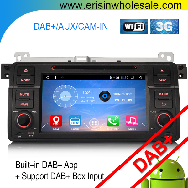 "Erisin ES5385B 7"" Android 6.0 Car auto radio Support Steering Wheel Control and GPS"