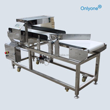 push rod gold metal detector for food industry