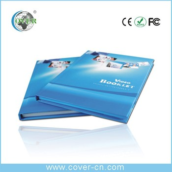 LCD customized video brochure