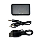 Wireless CSR BC05 stereo bluetooth audio transmitter with 3.5mm audio interface for TV/MP3/iPad/PC. Plug and play