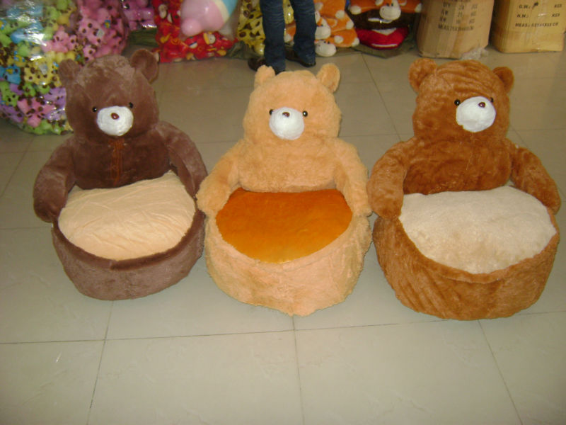Cool Stuffed Brown Bear Chair Soft Stuffed Animal Chair Cute Critter Sofa Chair For Kids Buy Plush Bear Chair Plush Animal Chairs For Children Plush Baby Pabps2019 Chair Design Images Pabps2019Com