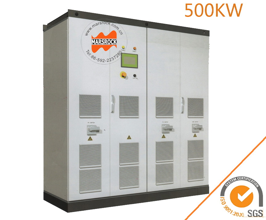 500KW Solar Grid Tie Inverter Transformerless, DC/AC, On Grid Solar Central Inverter