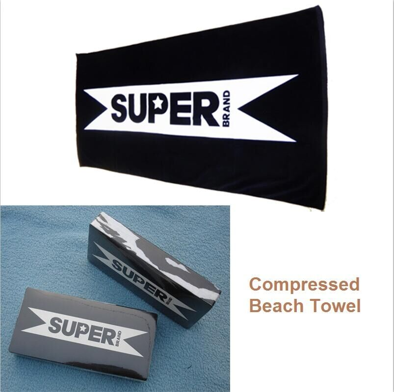 Free sample [ 10% discount ] small size square shape custom compressed towel