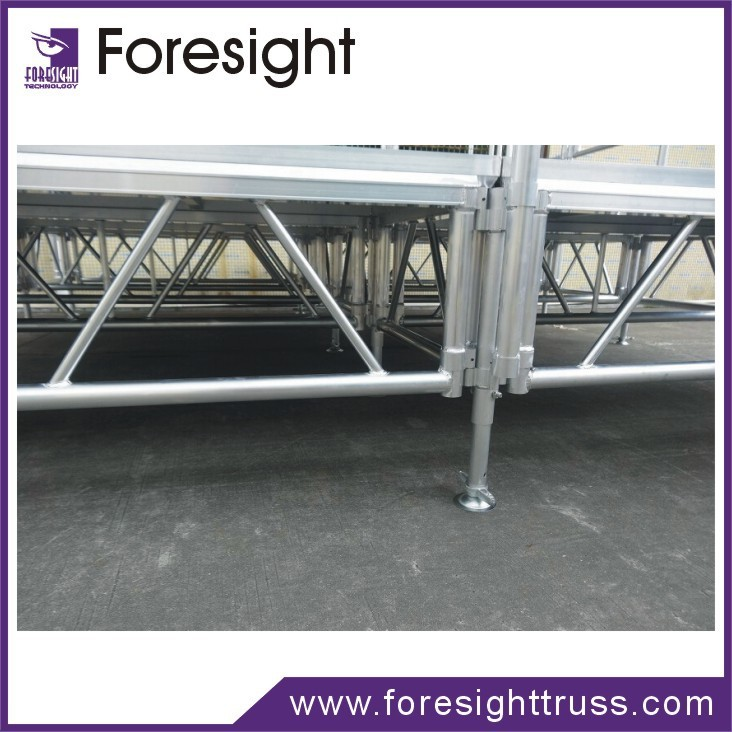 foresight newly aluminum exhibition booth/ dj booth/ mobile stage for sale