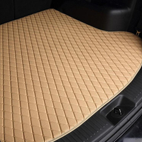 Factory Supply Eco-friendly Leather Auto Trunk Liner Mat
