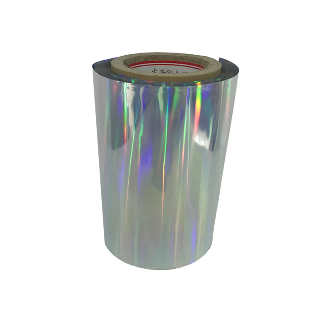 Discount Biaxially Oriented Metallized PET Plastic Film Rolls