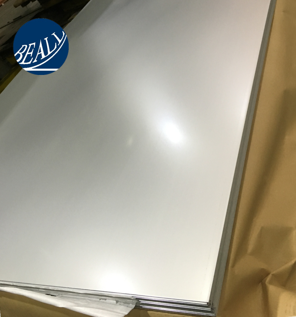 AISI 201 304 316 317 321 403 2B BA mirror finishing stainless steel sheet price from China