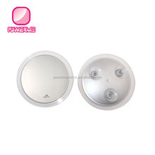 Bathroom Suction Cup Mirror With 10x Magnifying