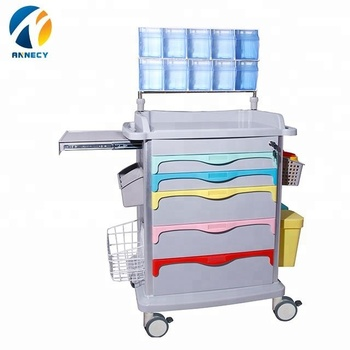 AC-AT031 hot sale patient portable hospital anesthesia clinical trolley hospital for sale
