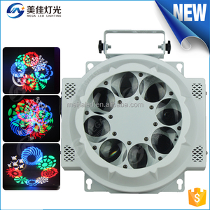 NEW2016 disco dj mini 8eyes 3w 3in1 gobo moving decorative mini cheap led stage lighting