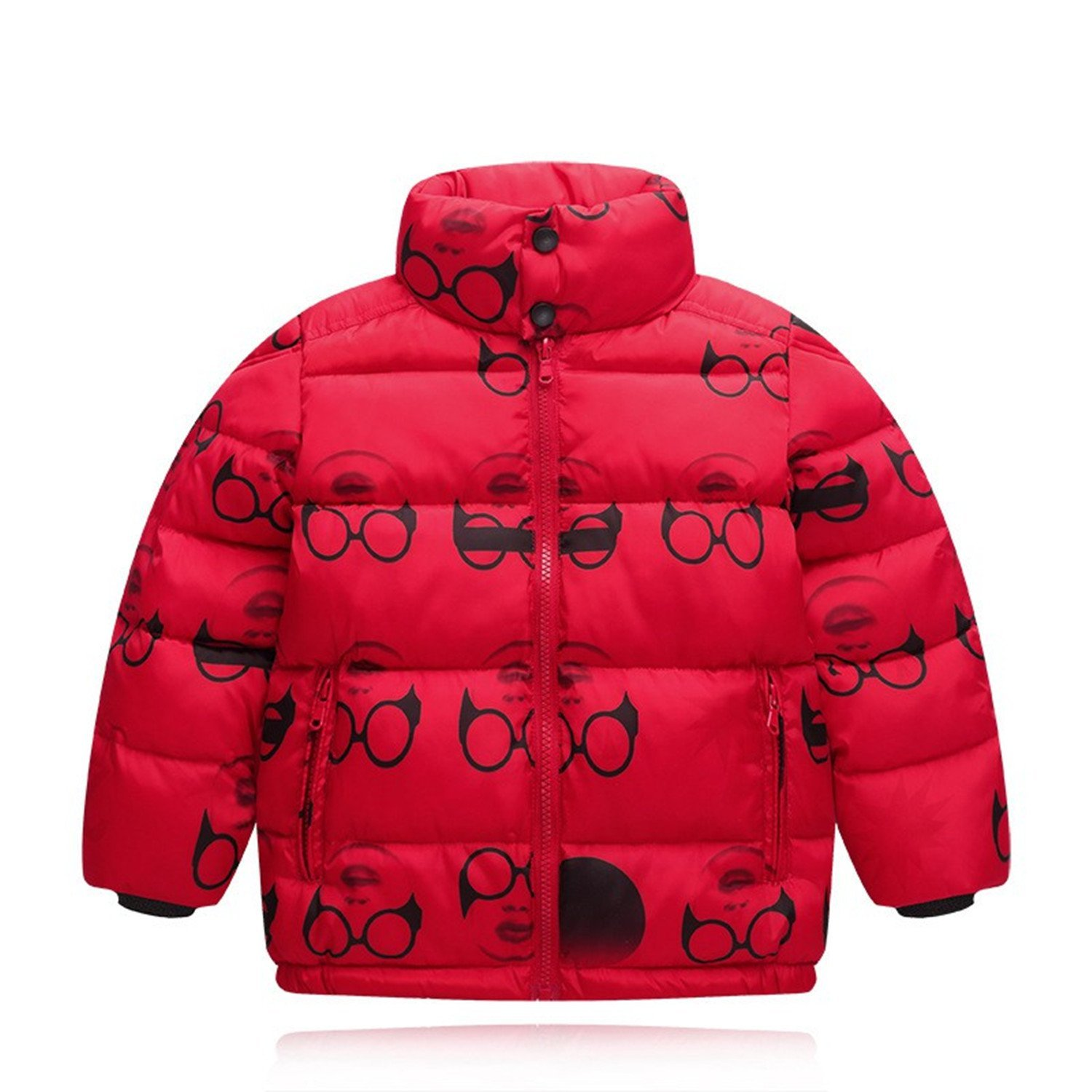 Baqijian Girls Parka Winter Coat Fur Children Coat Kids Cotton Teenage Jacket Boys Parka Kids Snowsuit Clothes