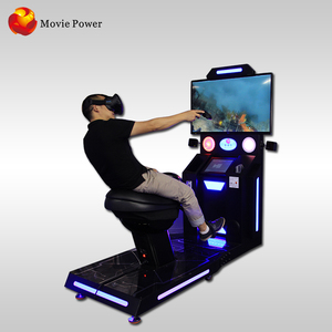 Theme Park Rides Interactive 9D Vr Horse Racing Game Machines Virtual Reality Shooting Ride Simulator