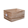 2016 Natural mdf/oak/birch wooden crate