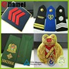 Factory custom accessories airline hostess uniform badge and epaulette