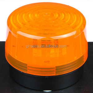 led strobe warning light 24v orange