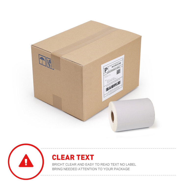 "Dymo Compatible 1744907 - 4"" x 6"" Dymo 4XL Postage Shipping Labels 220 Labels Per Roll"