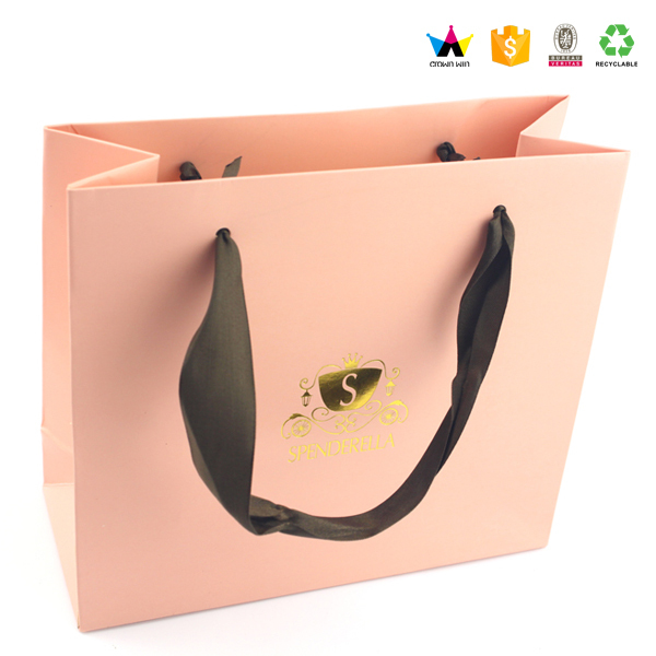Custom High End Paper Bags With Your Own Logo