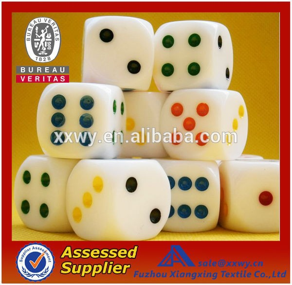 2014 custom standard opaque dice for games