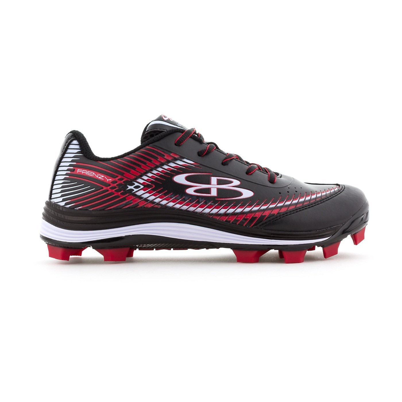 25a0d2264a5d Get Quotations · Boombah Women's Frenzy Molded Cleats - 13 Color Options - Multiple  Sizes