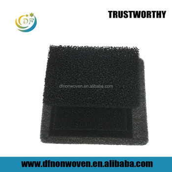 Factory direct sale honeycomb hs code polyurethane foam filter activated carbon filter for cooker hoods wholesale