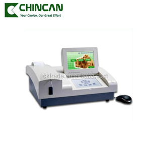 EMP-168vet High Quality LCD Touch Screen Clinical Semi-auto Biochemistry Analyzer with Competitive Price