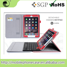 2016 Trending Products 9.7 Inch Tablet PU Cover Bluetooth Keyboard case