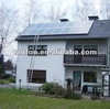 Best efficiency 1kw 24V/48V PV solar panel kit made in china/ Small home use solar panel kit with installation manual