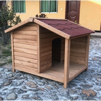 SDD011 Wholesale Pet Kennel Outdoor Wooden Cat Dog House