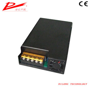 Dilong single output 240W box type 180V ac to 12V dc built-in fan refrigeration car power supply