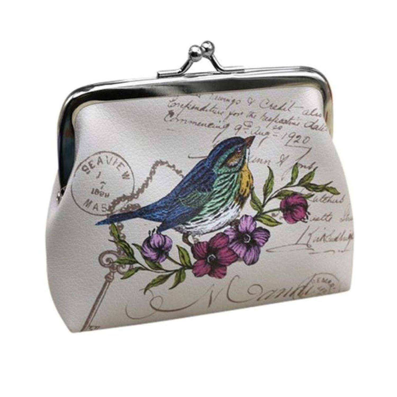 FDelinK Women Coin Purse Small Wallet Girl Vintage Flower Hasp Clutch Bag Card Holder Handbag