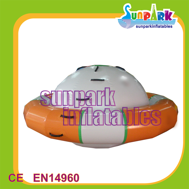 Amusement Park Toys Disco Boat Water Toys Inflatable Rocking Saturn