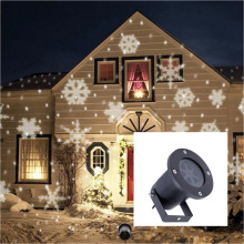 Festivel decoration LED led wall projection light Christmas snowflake LED laser light waterproof lawn light