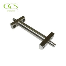 aluminum parts red copper material cnc processing services turning part stainless stee