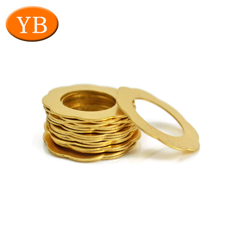 Gold Plating Half Round Plate Washer For Camera