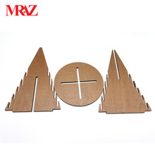 wholesale ODM 26cm christmas tree mini wood christmas tree